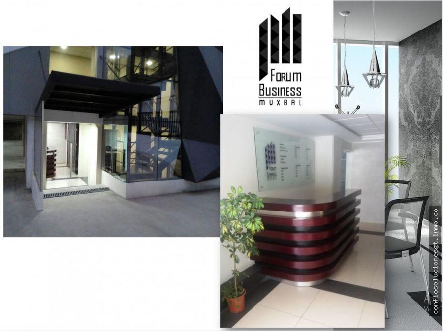 oficinas en renta en forum muxbal