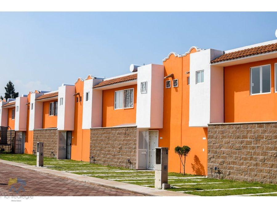 casas nuevas en los pinos tultepec