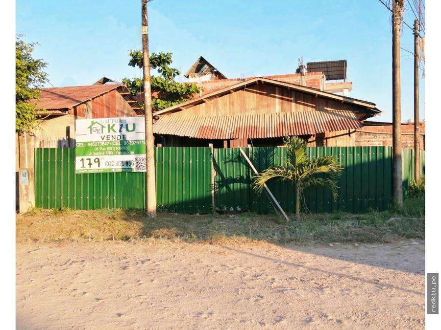 i021056 venta terreno yarinacocha
