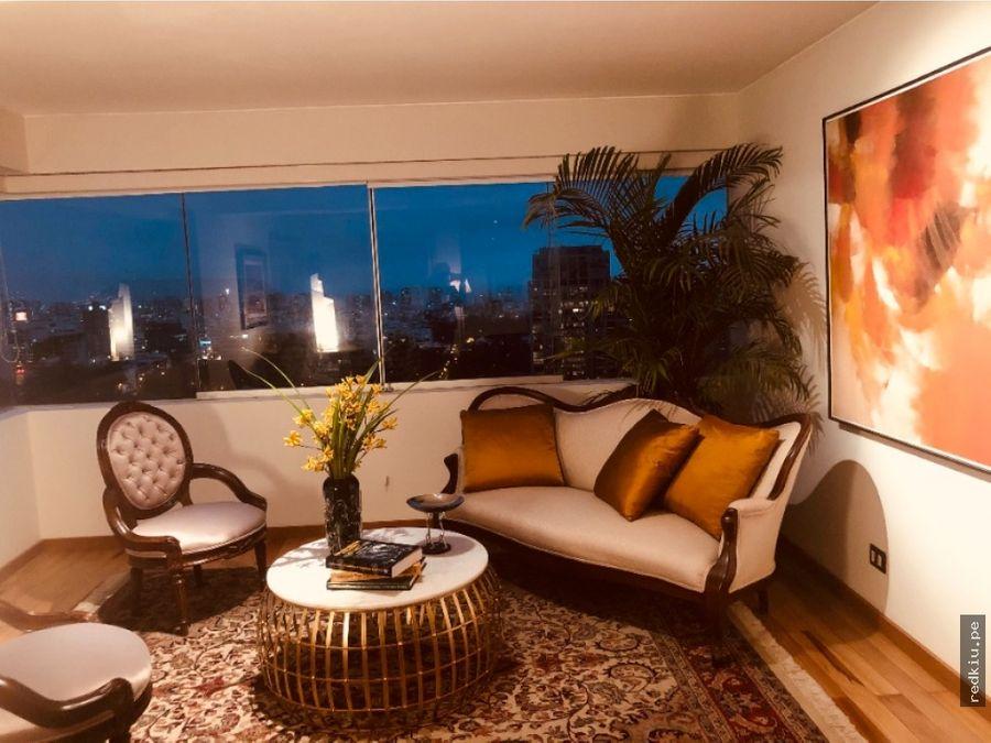 i021002 venta penthouse san isidro lima