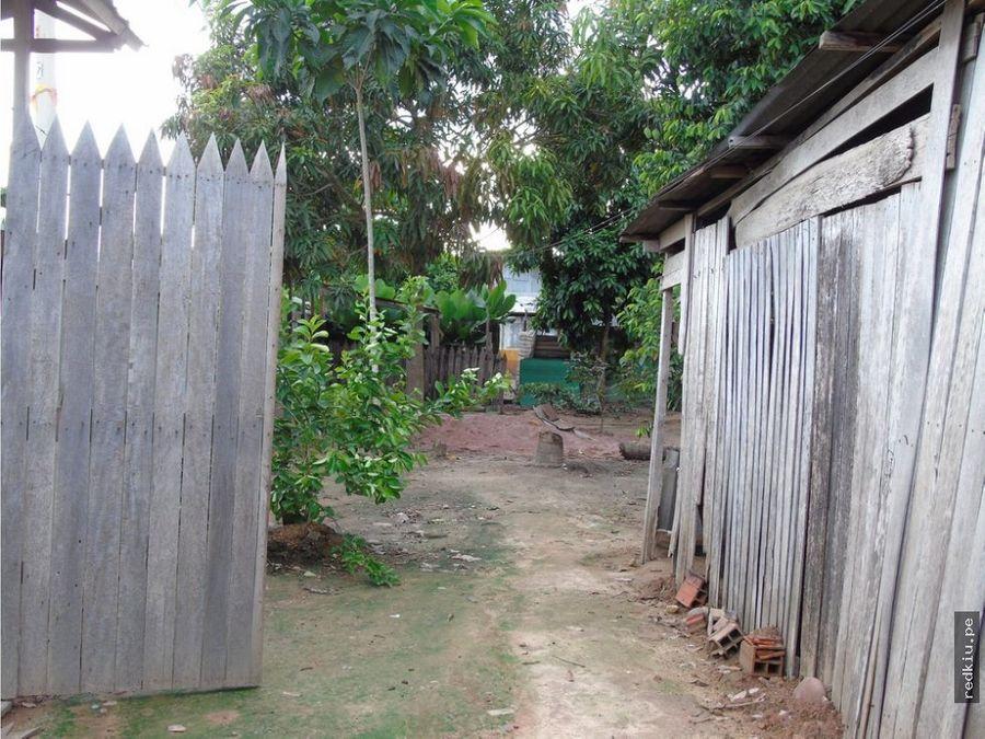 i018140 venta terreno en yarinacocha
