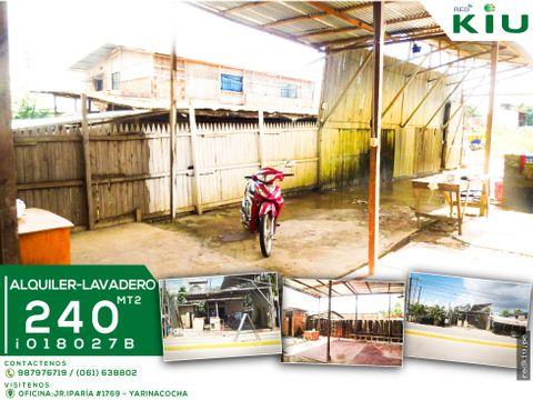 i018027b alquiler local para lavadero calleria