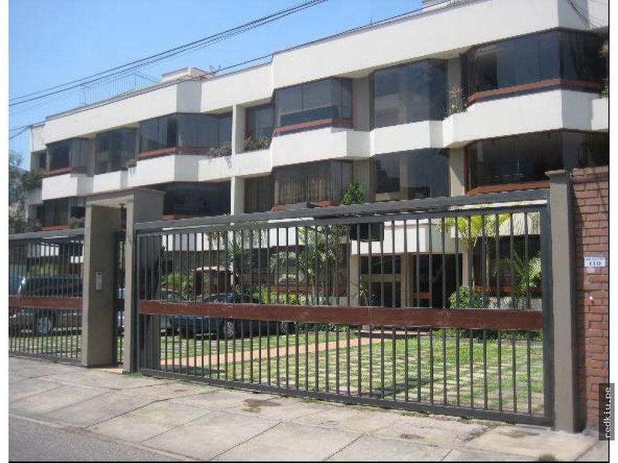 i020121 venta departamento santiago de surco lima