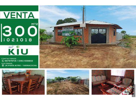 i021018 venta casa manantay