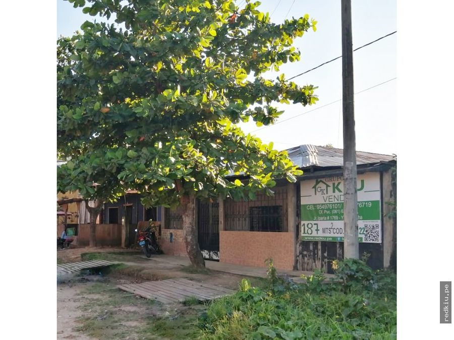 i021022 casa en venta yarinacocha