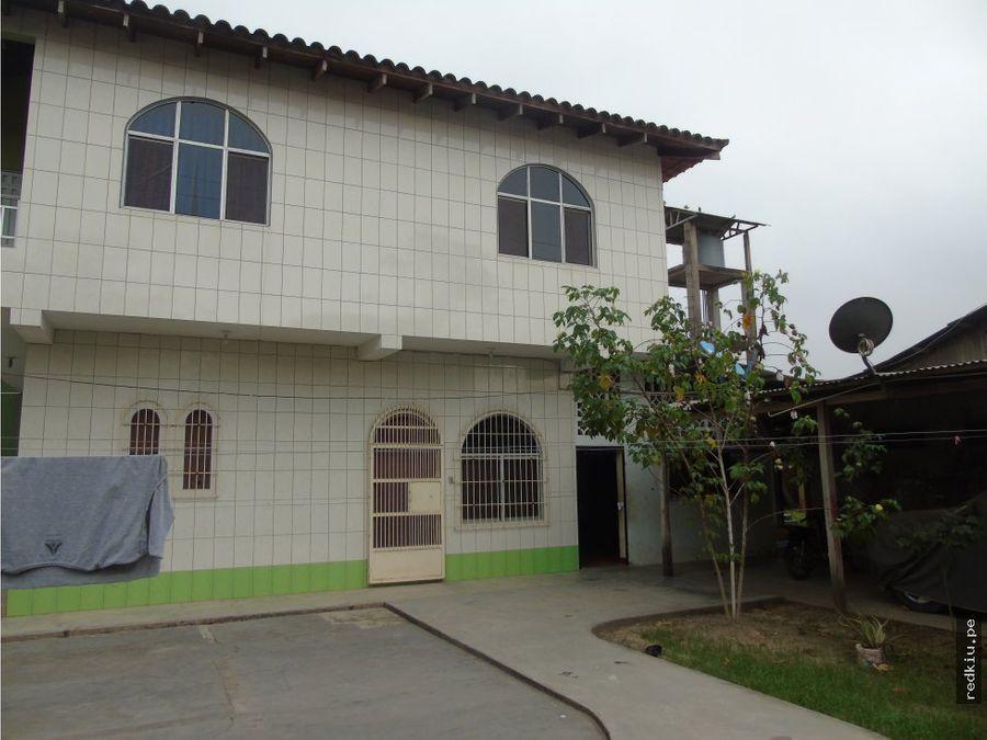 i019059 venta casa hab yarina