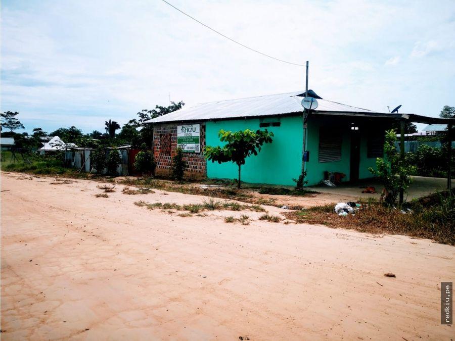i020043 venta casa manantay