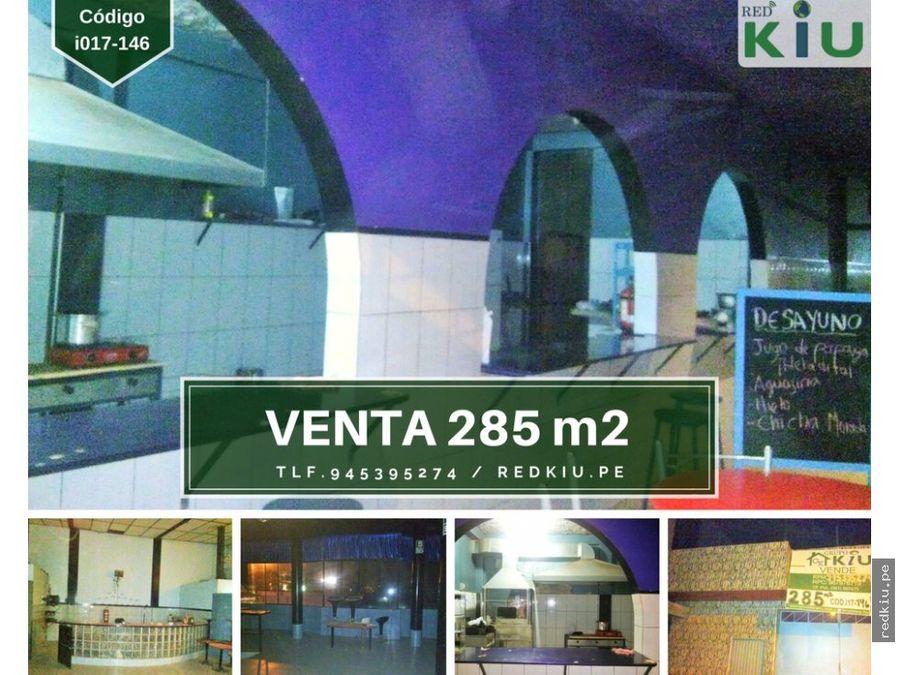i017146 venta local comercial yarinacocha