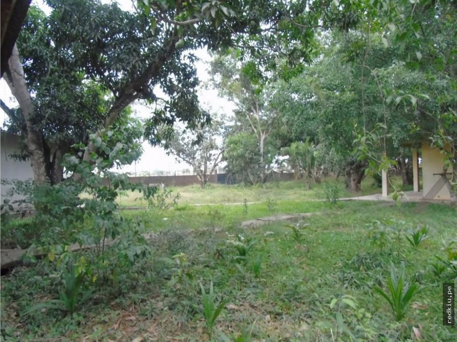 i018120 venta de terreno en yarina