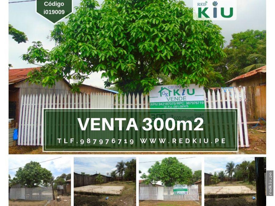 i019009 venta terreno manantay