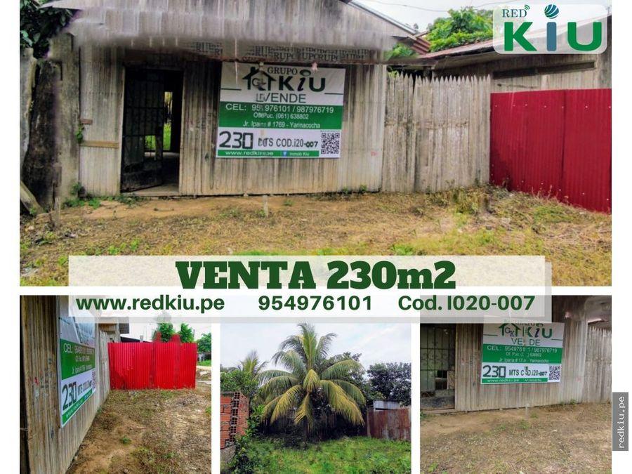 i020 007 venta terreno