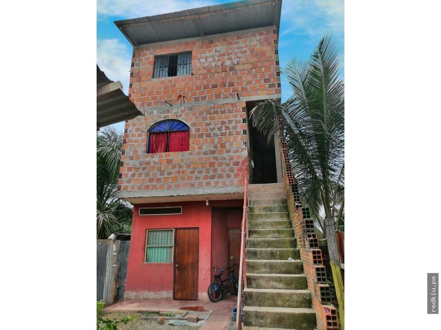 i020053 venta casa local manantay