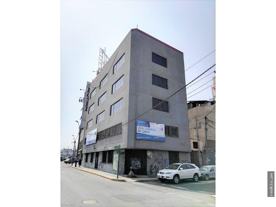 a17037 edificio comercial de 5 pisos surquillo