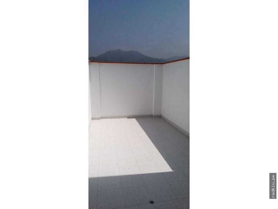 i021046 alquiler duplex sol de la molina lima