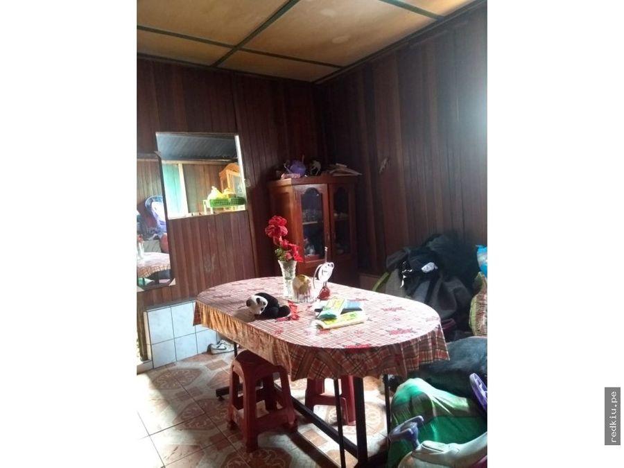 i018112 venta casa mat madera calleria