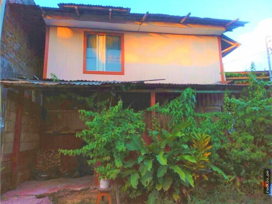 i019033 casa madera en venta aguaytia