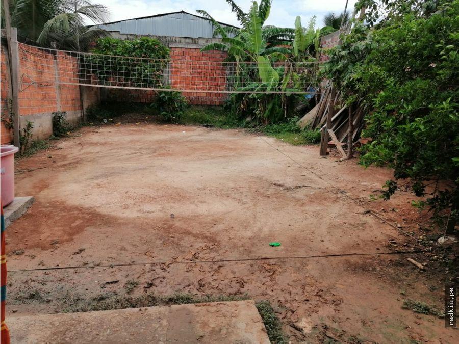 i020045 venta casa manantay