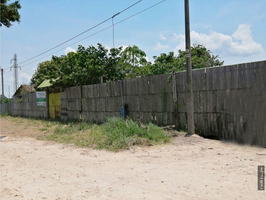 i021027 venta terreno yarinacocha