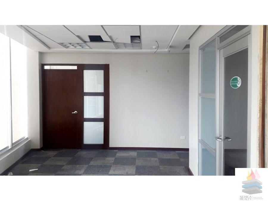 oficina en alquiler en torre banesco