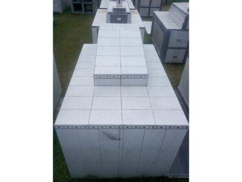 venta de boveda san jose cementerio de desamparados
