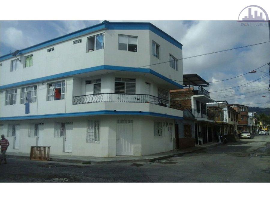 se vende edificio con 15 apartaestudios rentando