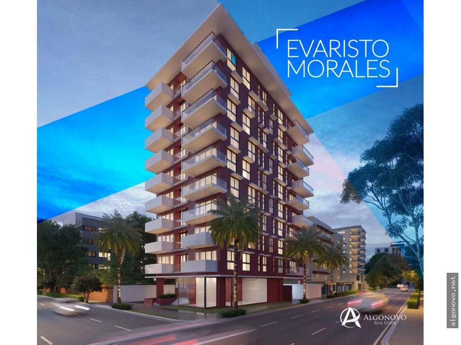 apartamentos de 3 habitaciones en evaristo morales
