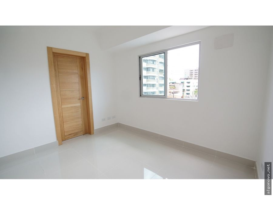 apartamento de 3 habitaciones en evaristo morales dn