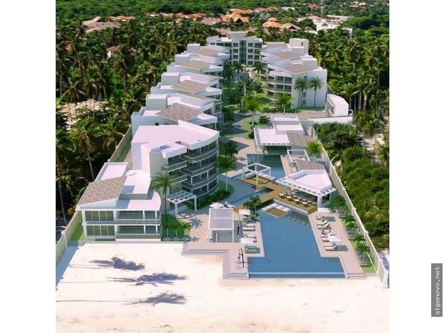 apartamentos 1ra linea de playa punta cana