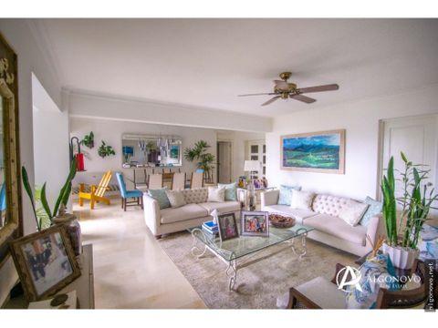 apartamento en venta de 3 habitaciones en ensanche paraiso
