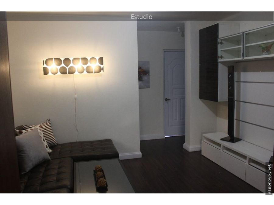 apartamento amueblado evaristo morales