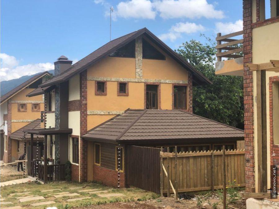 proyecto de villas jarabacoa