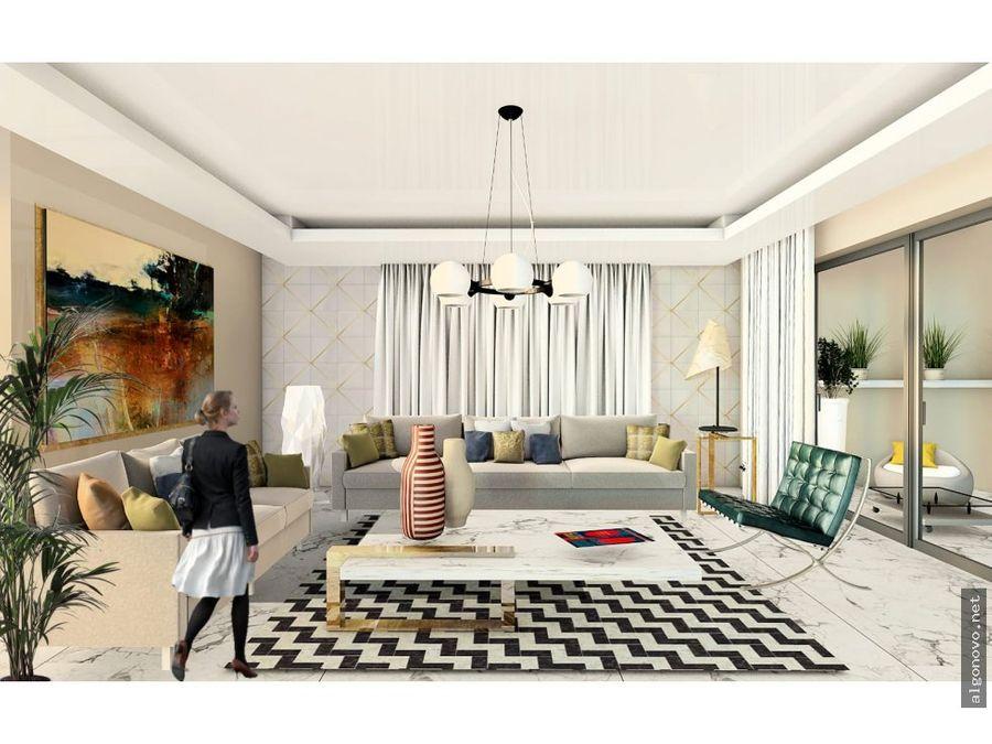 apartamentos de 3 habitaciones y 2 parqueos sde