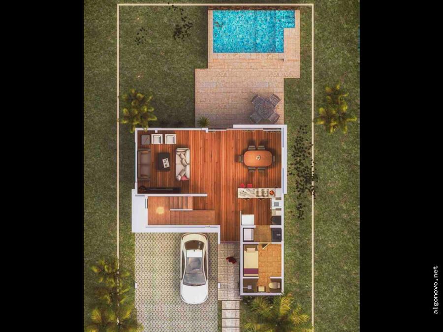 villa en punta cana tipo 6 westside