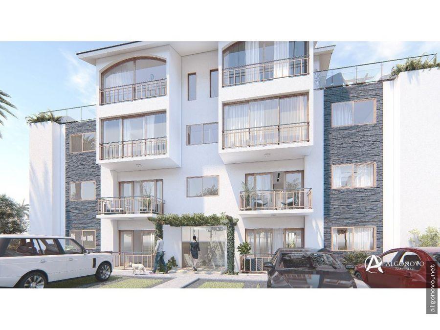 apartamentos de 2 habitaciones las terrenas