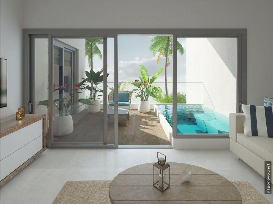 apartamentos con acceso a playa
