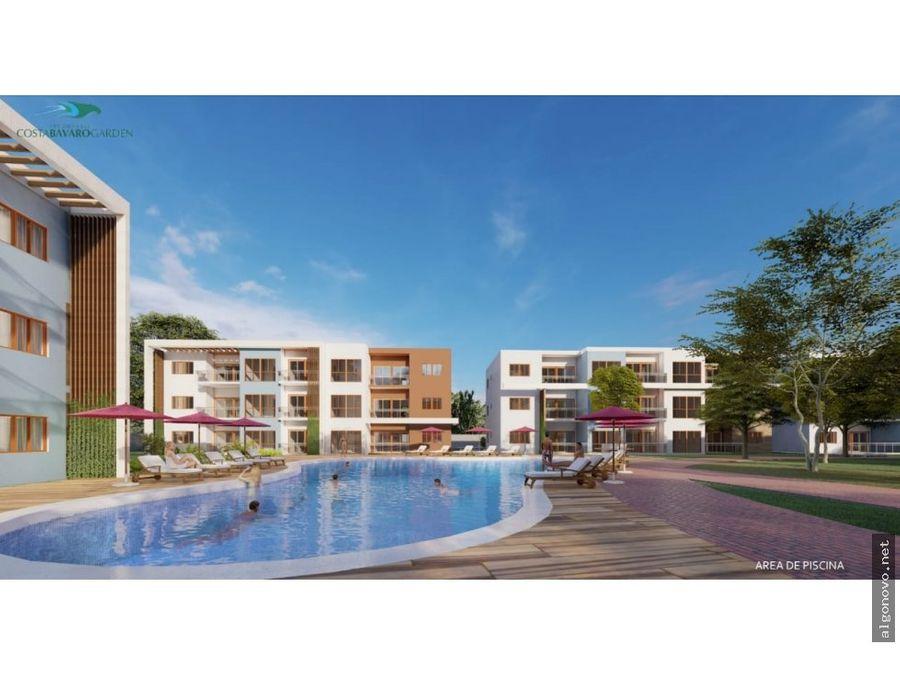 apartamentos en venta con acceso a playa bavaro 2h