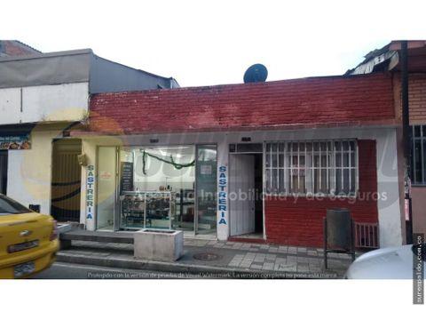 venta casa lote en el centro de armenia
