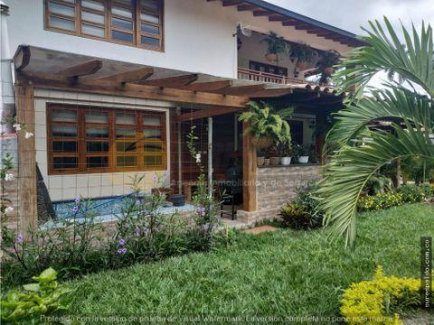 venta casa campestre via el caimo