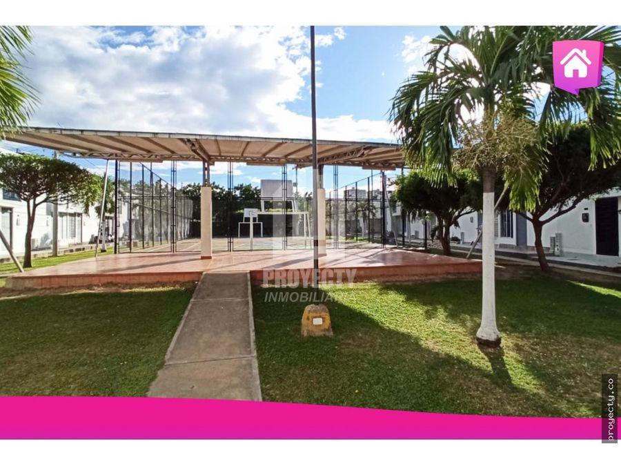 venta casa en conjunto cerrado con piscina laureles villa del rosario