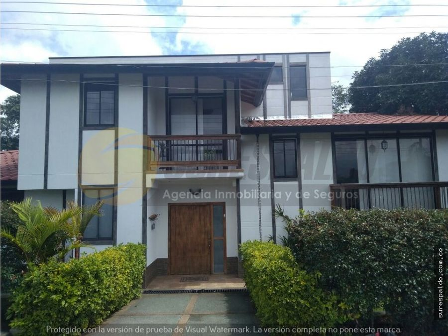 venta casa campestre en circasia