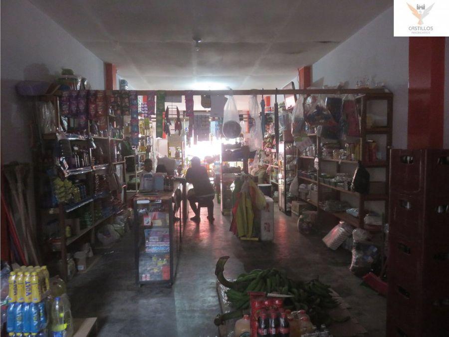 vendo casa con negocio en yurimaguas loreto