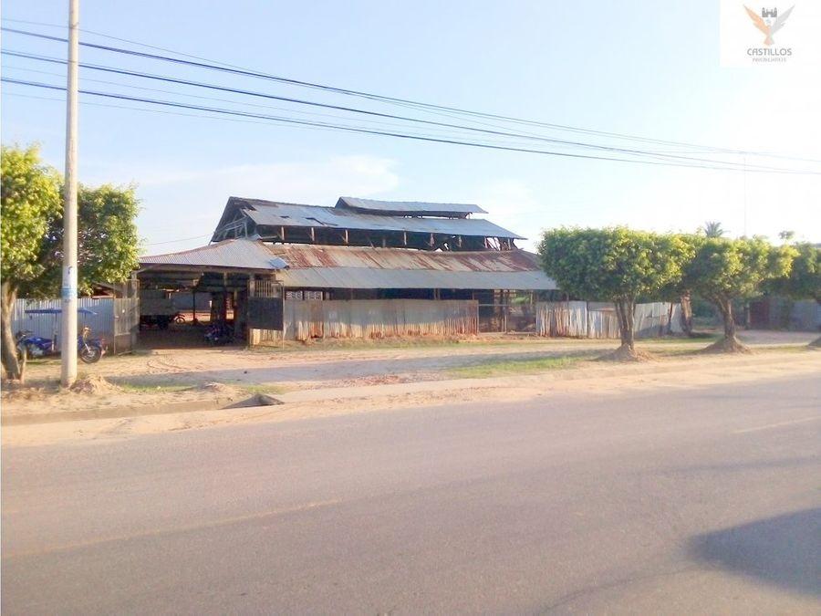 vendo lote de terreno en yurimaguas loreto