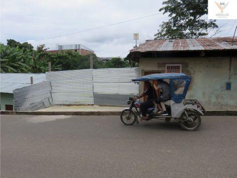 vendo terreno en yurimaguas loreto peru