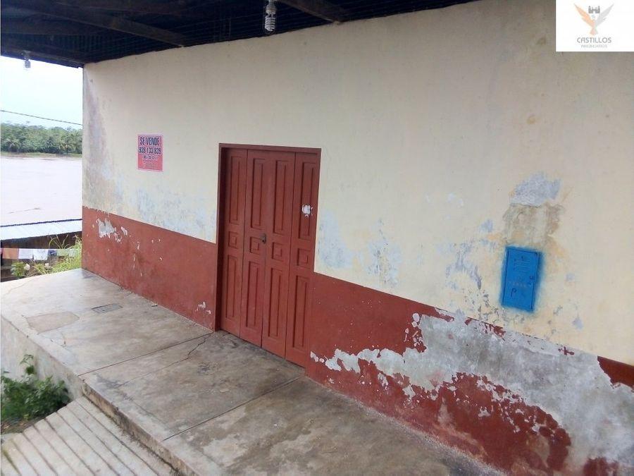 se vende casalocal en yurimaguas loreto
