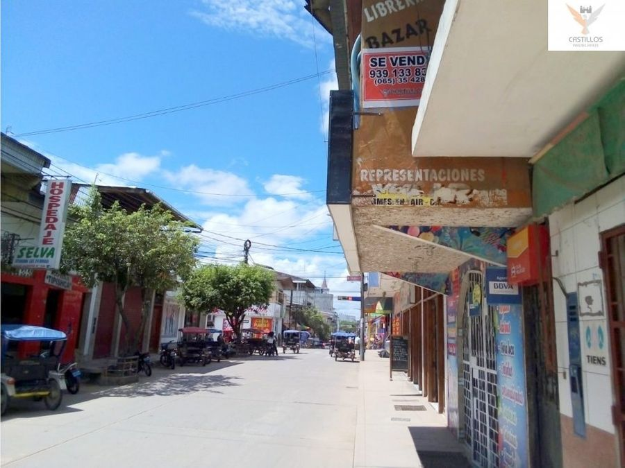 se vende local comercial vivienda en yurimaguas