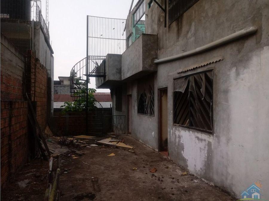 vivienda en centro urbano de pucallpa