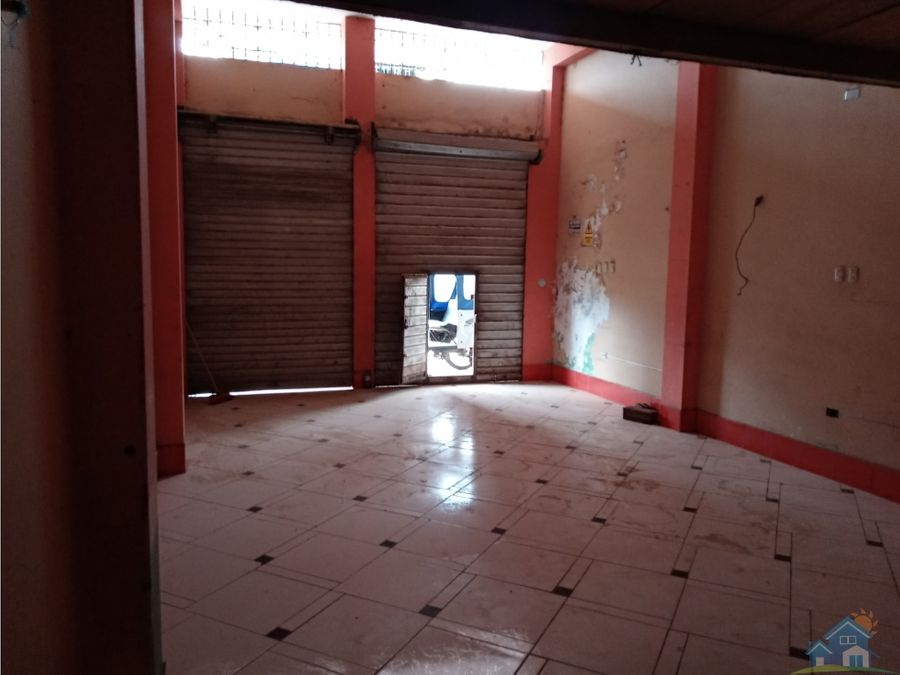 remate local comercial pucallpa