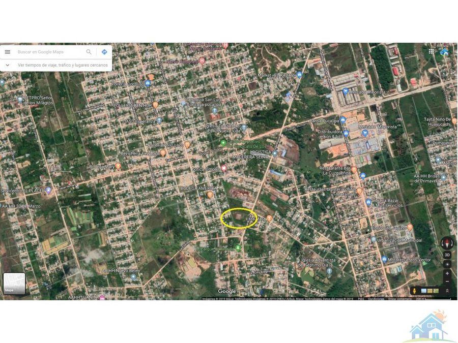 local industrial 11000 m2 pucallpa
