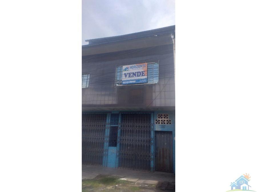 remate local comercial iquitos