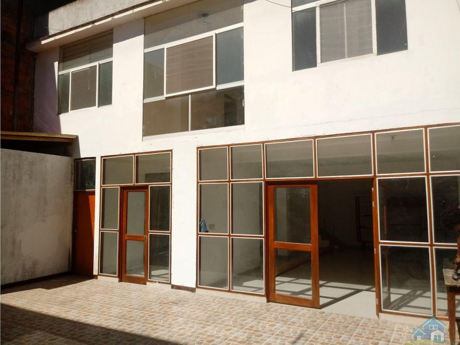 vivienda moderna en centro urbano de pucallpa